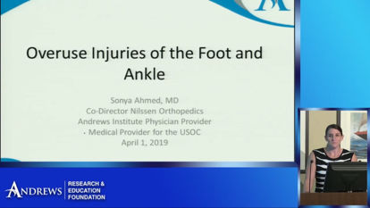 Picture of Overuse Injuries of the Foot and Ankle