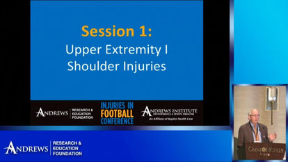 Injuries in Football 2019: Upper Extremity I