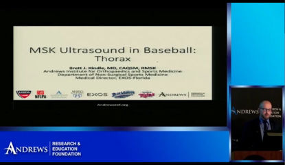 MSK Ultrasound in Baseball: Part 2