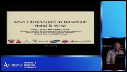 MSK Ultrasound in Baseball: Part 4