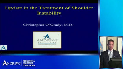 Picture of Shoulder Instability and Rehabilitation